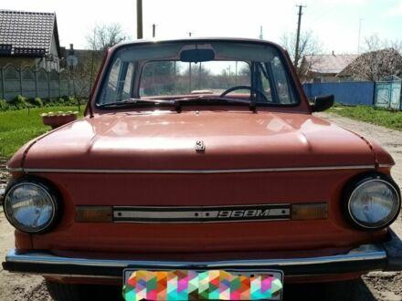 Красный ЗАЗ 968, объемом двигателя 1 л и пробегом 1 тыс. км за 540 $, фото 1 на Automoto.ua