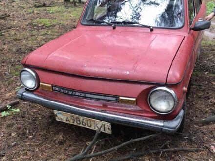 Красный ЗАЗ 968, объемом двигателя 1.2 л и пробегом 30 тыс. км за 750 $, фото 1 на Automoto.ua