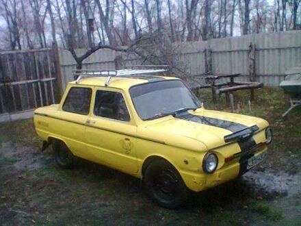 Желтый ЗАЗ 968, объемом двигателя 1.2 л и пробегом 6 тыс. км за 530 $, фото 1 на Automoto.ua