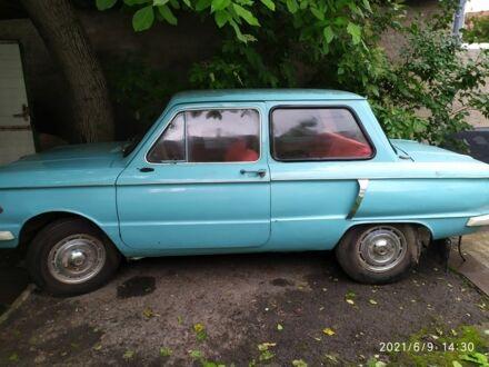 Синий ЗАЗ 968, объемом двигателя 1.2 л и пробегом 23 тыс. км за 200 $, фото 1 на Automoto.ua