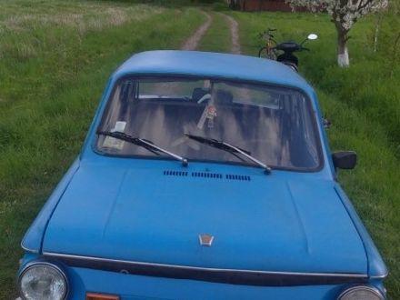 Синий ЗАЗ 968, объемом двигателя 1.1 л и пробегом 1 тыс. км за 320 $, фото 1 на Automoto.ua