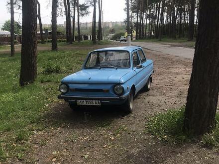 Синий ЗАЗ 968, объемом двигателя 1.2 л и пробегом 84 тыс. км за 750 $, фото 1 на Automoto.ua