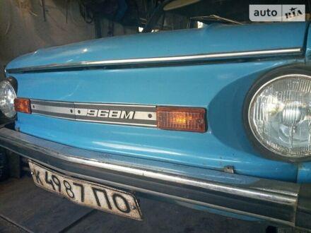 Синий ЗАЗ 968, объемом двигателя 0 л и пробегом 36 тыс. км за 2700 $, фото 1 на Automoto.ua