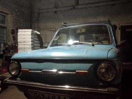 Синий ЗАЗ 968, объемом двигателя 1.2 л и пробегом 168 тыс. км за 478 $, фото 1 на Automoto.ua