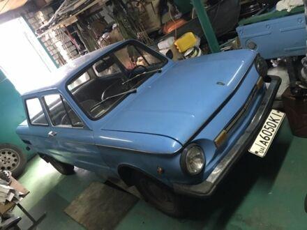 Синий ЗАЗ 968, объемом двигателя 1.1 л и пробегом 32 тыс. км за 550 $, фото 1 на Automoto.ua