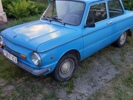 Синий ЗАЗ 968, объемом двигателя 1.2 л и пробегом 81 тыс. км за 550 $, фото 1 на Automoto.ua