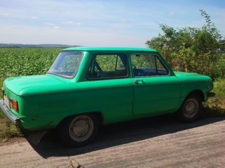 Зеленый ЗАЗ 968, объемом двигателя 1.1 л и пробегом 97 тыс. км за 361 $, фото 1 на Automoto.ua