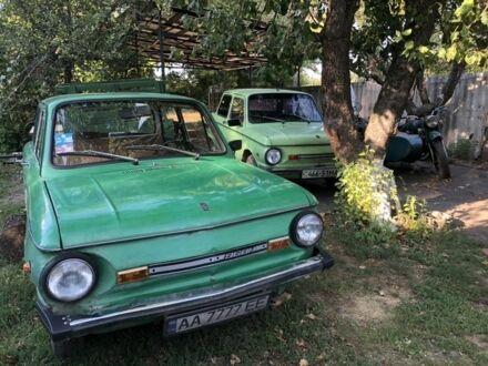 Зеленый ЗАЗ 968, объемом двигателя 1.1 л и пробегом 27 тыс. км за 275 $, фото 1 на Automoto.ua