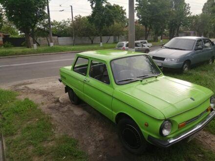 Зеленый ЗАЗ 968, объемом двигателя 1.2 л и пробегом 16 тыс. км за 850 $, фото 1 на Automoto.ua