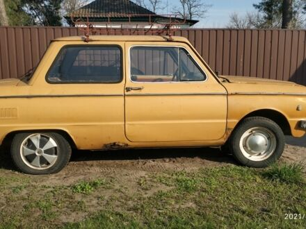 Оранжевый ЗАЗ 968, объемом двигателя 1.2 л и пробегом 104 тыс. км за 362 $, фото 1 на Automoto.ua