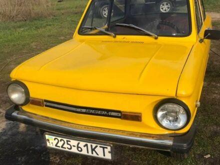 Оранжевый ЗАЗ 968, объемом двигателя 0.89 л и пробегом 55 тыс. км за 296 $, фото 1 на Automoto.ua