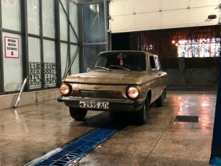 Золотой ЗАЗ 968, объемом двигателя 1.2 л и пробегом 51 тыс. км за 555 $, фото 1 на Automoto.ua