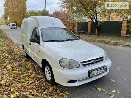Білий ЗАЗ Lanos Cargo, об'ємом двигуна 1.5 л та пробігом 240 тис. км за 3200 $, фото 1 на Automoto.ua