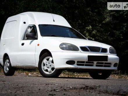 Білий ЗАЗ Lanos Cargo, об'ємом двигуна 1.5 л та пробігом 156 тис. км за 3700 $, фото 1 на Automoto.ua