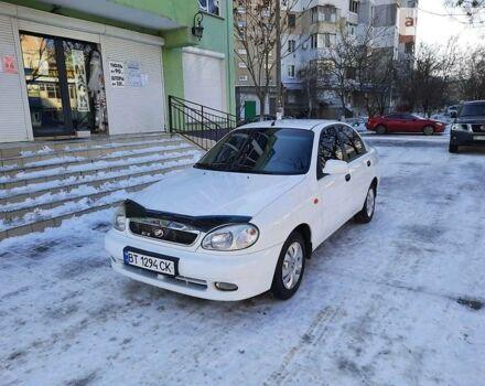 Белый ЗАЗ Ланос, объемом двигателя 1.5 л и пробегом 90 тыс. км за 4400 $, фото 1 на Automoto.ua