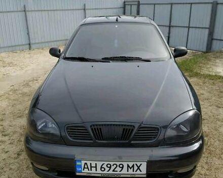 Черный ЗАЗ Ланос, объемом двигателя 1.3 л и пробегом 10 тыс. км за 4000 $, фото 1 на Automoto.ua