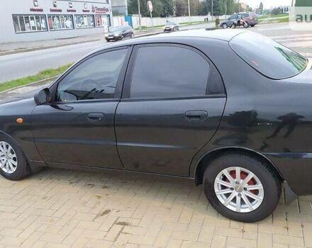 Черный ЗАЗ Ланос, объемом двигателя 1.5 л и пробегом 173 тыс. км за 3950 $, фото 1 на Automoto.ua