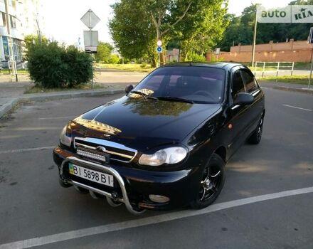 Чорний ЗАЗ Ланос, об'ємом двигуна 1.5 л та пробігом 117 тис. км за 4400 $, фото 1 на Automoto.ua