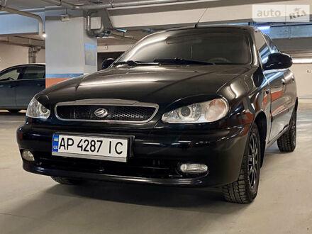 Черный ЗАЗ Ланос, объемом двигателя 1.5 л и пробегом 100 тыс. км за 4600 $, фото 1 на Automoto.ua