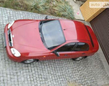 Червоний ЗАЗ Ланос, об'ємом двигуна 1.49 л та пробігом 102 тис. км за 3600 $, фото 1 на Automoto.ua