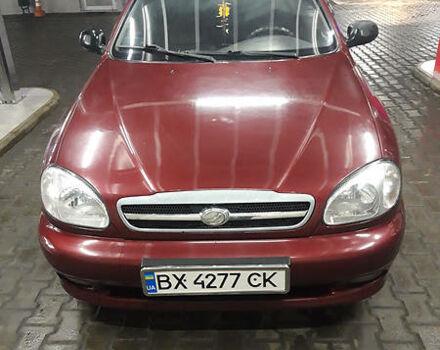 Красный ЗАЗ Ланос, объемом двигателя 1.6 л и пробегом 90 тыс. км за 3500 $, фото 1 на Automoto.ua