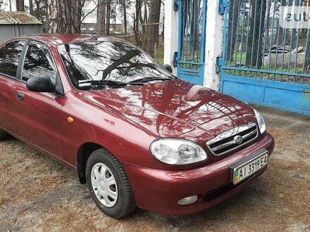Красный ЗАЗ Ланос, объемом двигателя 1.5 л и пробегом 55 тыс. км за 4300 $, фото 1 на Automoto.ua