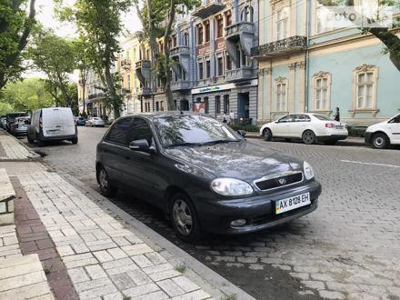 Серый ЗАЗ Ланос, объемом двигателя 1.5 л и пробегом 54 тыс. км за 4500 $, фото 1 на Automoto.ua