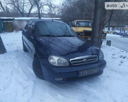 Синій ЗАЗ Ланос, об'ємом двигуна 1.5 л та пробігом 195 тис. км за 3500 $, фото 1 на Automoto.ua