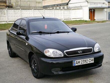 Черный ЗАЗ Сенс, объемом двигателя 1.3 л и пробегом 79 тыс. км за 3350 $, фото 1 на Automoto.ua
