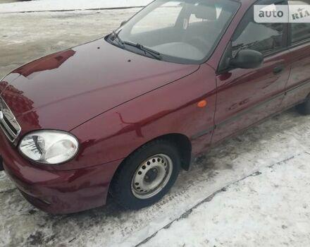Вишнёвый ЗАЗ Сенс, объемом двигателя 1.4 л и пробегом 52 тыс. км за 3700 $, фото 1 на Automoto.ua
