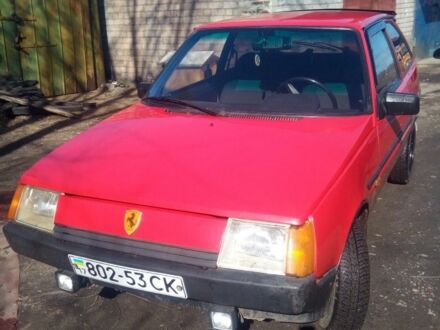 Красный ЗАЗ Таврия, объемом двигателя 1.1 л и пробегом 137 тыс. км за 1400 $, фото 1 на Automoto.ua