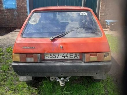 Красный ЗАЗ Таврия, объемом двигателя 1.2 л и пробегом 2 тыс. км за 540 $, фото 1 на Automoto.ua