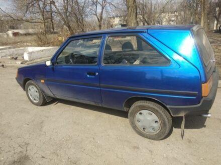 Синий ЗАЗ Таврия, объемом двигателя 1 л и пробегом 79 тыс. км за 893 $, фото 1 на Automoto.ua
