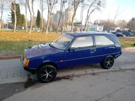 Синий ЗАЗ Таврия, объемом двигателя 12 л и пробегом 170 тыс. км за 1000 $, фото 1 на Automoto.ua
