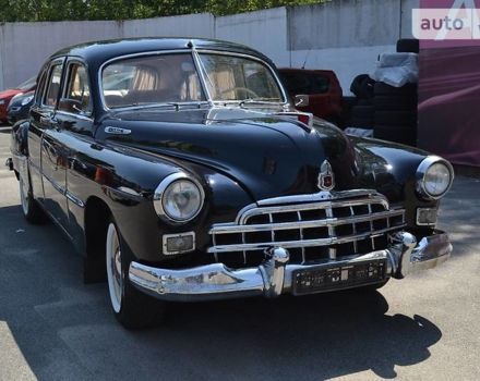 Черный ЗИМ 12, объемом двигателя 3.5 л и пробегом 48 тыс. км за 20000 $, фото 1 на Automoto.ua