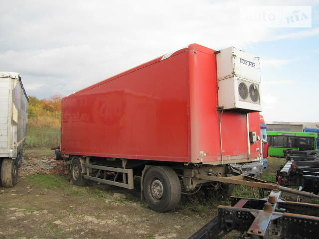 Червоний Ackermann-Fruehauf Фрюхауф, об'ємом двигуна 0 л та пробігом 1 тис. км за 6700 $, фото 1 на Automoto.ua
