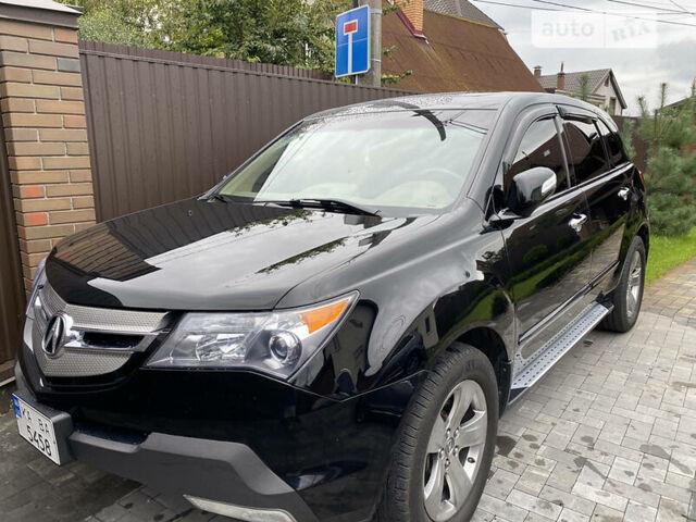 Черный Акура МДХ, объемом двигателя 3.7 л и пробегом 110 тыс. км за 15600 $, фото 1 на Automoto.ua