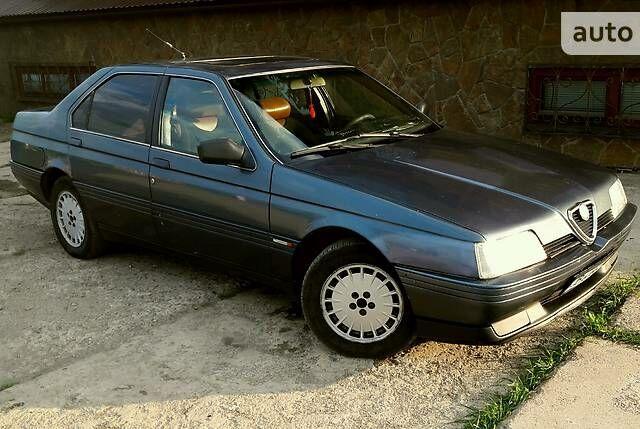 Синій Альфа Ромео 164, об'ємом двигуна 3 л та пробігом 200 тис. км за 2000 $, фото 1 на Automoto.ua