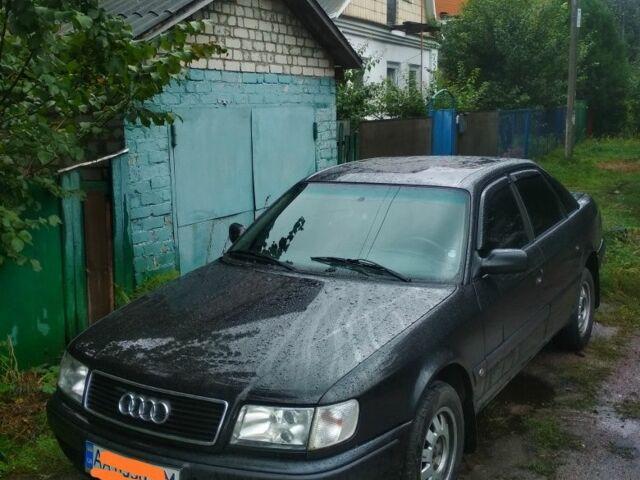 Черный Ауди 100, объемом двигателя 2.3 л и пробегом 522 тыс. км за 3300 $, фото 1 на Automoto.ua