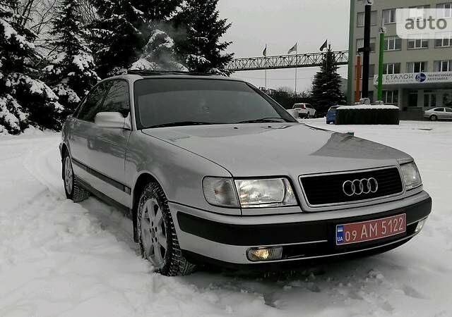 Сірий Ауді 100, об'ємом двигуна 2.8 л та пробігом 339 тис. км за 4600 $, фото 1 на Automoto.ua