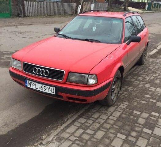 Красный Ауди 80, объемом двигателя 1.9 л и пробегом 1 тыс. км за 1200 $, фото 1 на Automoto.ua