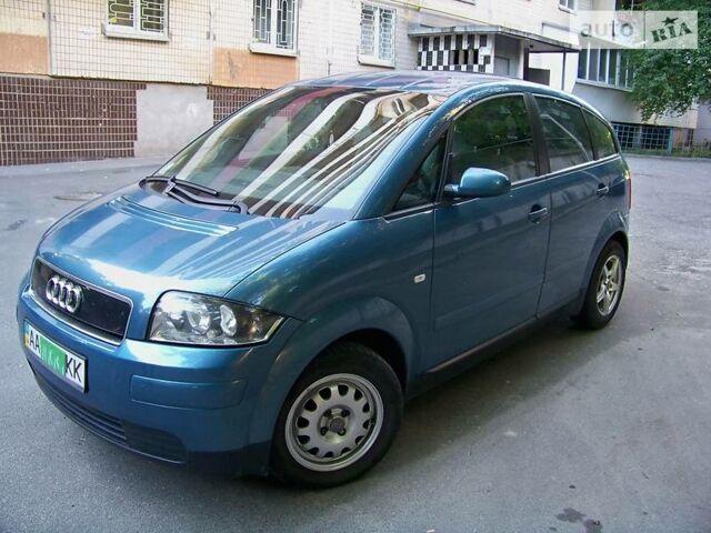 Синій Ауді A2, об'ємом двигуна 1.2 л та пробігом 116 тис. км за 8500 $, фото 1 на Automoto.ua