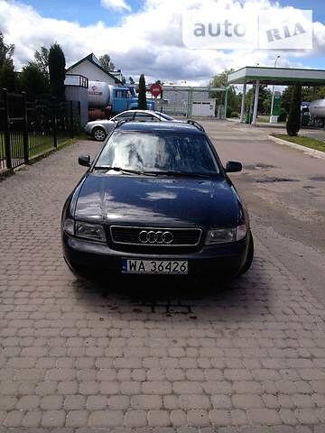 Черный Ауди А4, объемом двигателя 1.9 л и пробегом 1000 тыс. км за 1850 $, фото 1 на Automoto.ua