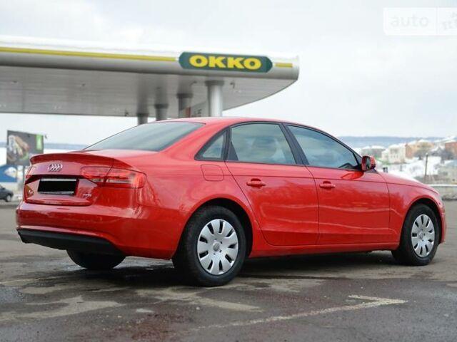 Червоний Ауді A4, об'ємом двигуна 1.8 л та пробігом 76 тис. км за 14800 $, фото 1 на Automoto.ua