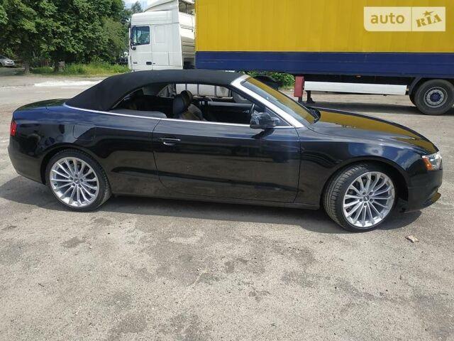 Черный Ауди А5, объемом двигателя 2 л и пробегом 141 тыс. км за 21500 $, фото 1 на Automoto.ua