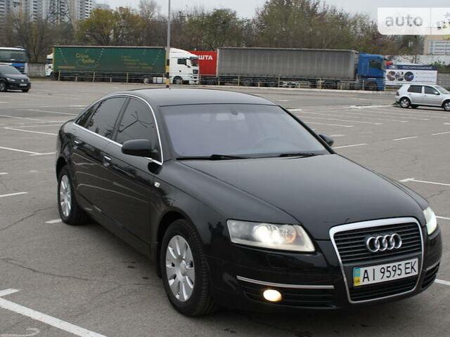 Черный Ауди А6, объемом двигателя 2.4 л и пробегом 183 тыс. км за 8999 $, фото 1 на Automoto.ua
