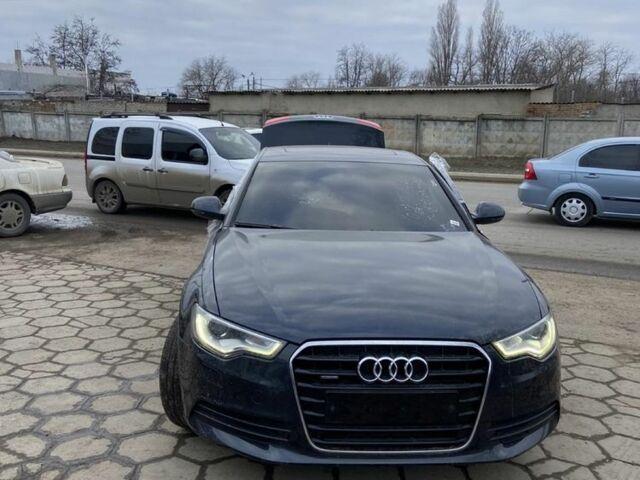 Черный Ауди А6, объемом двигателя 3 л и пробегом 170 тыс. км за 20000 $, фото 1 на Automoto.ua
