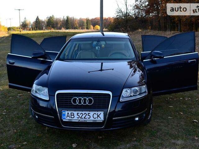 Синий Ауди А6, объемом двигателя 2 л и пробегом 239 тыс. км за 8500 $, фото 1 на Automoto.ua