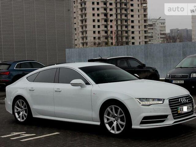 Білий Ауді А7, об'ємом двигуна 3 л та пробігом 25 тис. км за 67300 $, фото 1 на Automoto.ua