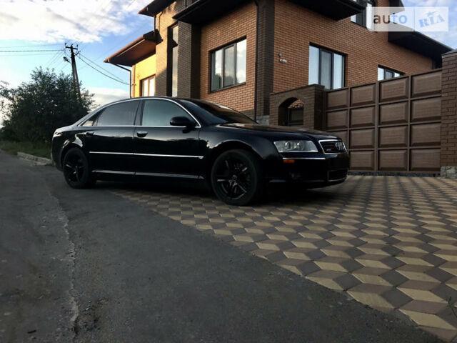 Черный Ауди А8, объемом двигателя 4.2 л и пробегом 288 тыс. км за 8800 $, фото 1 на Automoto.ua